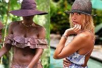 Co je to za černošku? Dara Rolins šokuje fanoušky fotkou z Bali!