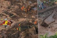 Protržená přehrada: 58 mrtvých při obří havárii, stovky lidí v Brazílii pohřešují