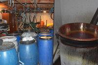 Výbuch při pálení kořalky: Odpadávala z nich kůže a oblečení, popsali šokovaní svědci