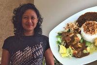 Juanita (47) vede indonéskou restauraci: Pražany láká na rodinné recepty, sama miluje španělské ptáčky