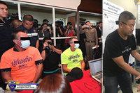 V Thajsku zatkli Čecha, kterého hledal Interpol: Velel policii, tvrdí místní autority