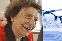 Po smrti manžela chtěla vše vzdát. Teď se Ludmila (90) učí anglicky a vyjela i do Číny