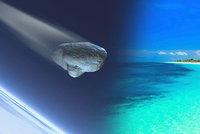 Dovolenkový ráj vyděsil obří výbuch: Na ostrov dopadl meteorit