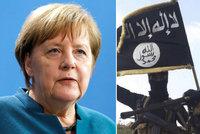 """ISIS jsme neporazili ani náhodou, ví Merkelová. """"Teroristé transformují síly"""""""