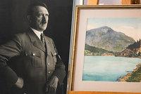 Dražba Hitlerových obrazů skončila fiaskem: Vysoká cena i podezření z padělků