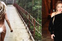 Dycky Most! hlásí už i nahá Kaira Hrachovcová! Na fanoušky vystrčila zadek