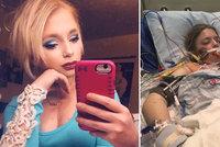 Nepomohly ani dvě transplantace plic: Dívenka umírá na cystickou fibrózu