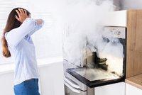 Pečení v troubě vytváří špinavější vzduch než hustá doprava, varují odborníci