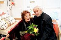 Vlastě Chramostové zemřel manžel: Stanislav Milota (†85) podlehl zápalu plic