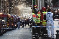 Muž spojovaný s vraždou pobodal 4 lidi v centru metropole: Potom vytáhl pistoli!