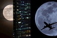 Úchvatná noční podívaná: Nad Českem se koulel »Superměsíc«!