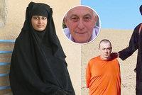 """Nevěsta ISIS čelí drsné kritice: """"Hnusná špína a d*vka,"""" spustil bratr popraveného Brita"""