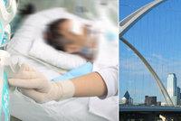 Mladík spadl kvůli selfie z 15metrového mostu: Chtěl jsem jenom prima fotku! Říká