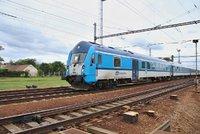 Vlak v Ostravě srazil chodkyni: Žena na místě zemřela