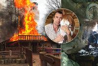 """Konec všem spekulacím: Co stálo za požárem """"Indiánova"""" ranče?"""