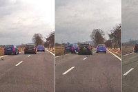 Způsobil těžkou nehodu, ujel, ale natočila ho kamera! Znáte ho?