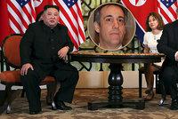 Trump o fiasku summitu s Kimem: Může za to proces s jeho exprávníkem