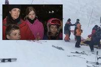 MacGyver na lyžích: Skupina dětí zachránila chlapce, který spadl z lanovky