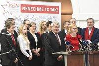 Komunisté v boji o Brusel volají po silnějším Česku. Konečná chce křeslo navíc