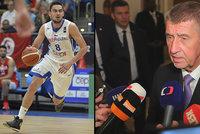První zádrhel Babiše v USA: Česká hvězda v NBA Satoranský se s ním odmítl sejít