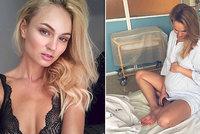 Miss Fajksová v porodnici: Poslala tajemný vzkaz!