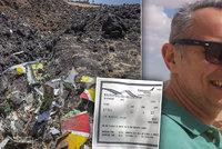 Naštvaný šéf se domáhal vstupu na let, kde zemřeli i Slováci. Rozhodly dvě minuty