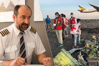 """Situace na palubě etiopského letadla? """"Panika za plného vědomí!"""" Říká pilot Boeingu 737"""