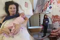 """Hejtmanka Jermanová porodila. Holčička má """"veselé"""" jméno, manžel čekal v předsálí"""