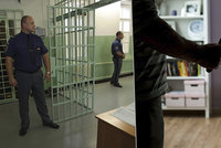 Muž z Písku tyranizoval rodinu nožem i pistolí: Z policejní cely udělal kůlničku na dříví