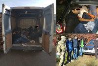 Gang vozil migranty přes Prahu: Na každém z nich vydělali převaděči 57 tisíc!