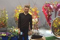 Přemysl z Měnína je špička mezi květináři: Ze světové soutěže v USA si veze 5. místo