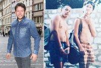 Retro fotka Matěje Rupperta: ještě, že z toho vyrostl!