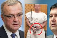 Češi velebí teror na Zélandu, stěžoval si Kalousek. Hamáček povolal policii