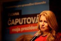 Čaputová a Šefčovič se utkají o post prezidenta. Blondýna vyhrála na Slovensku 1. kolo