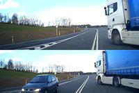 Polský kamioňák málem sejmul Čecha na silnici: Podruhé jsem se narodil, říká řidič