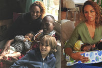 Čtyřnásobná matka Lejla Abbasová: Všechny děti odvezu do Afriky!