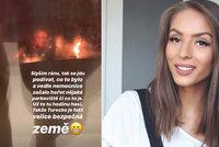 Popálená youtuberka Třešničková: Další ohnivé peklo v její blízkosti!