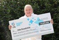 Tlouštík vyhrál v loterii 2,1 miliardy: Zlatokopky u mě nemají šanci, říká