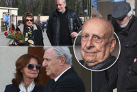 Pohřeb Stanislava Zindulky (†86): Slzy i smích rodiny a herců, davy lidí a krásná slova!