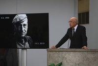 Nárožný na pohřbu Zindulky: Dojemný proslov odhalil velké tajemství a pobavil rodinu
