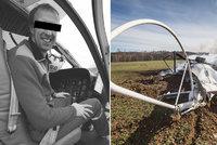 Tragická nehoda vrtulníku na Náchodsku: V troskách zahynul člen Horské služby a vojenský pilot