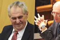 """Zemana udivil """"idiot"""" a hájí Faltýnka v kauze mýto: """"Nenesl mu přece obálku"""""""