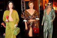 Zahájení Prague Fashion Weeku: Verešová jako sexy mimozemšťan a odhalený dekolt Vignerové!