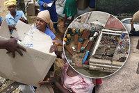 Babička (71) ušla 16 kilometrů, aby pomohla obětem cyklonu. Živel má stovky obětí