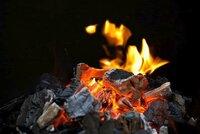 Podivín se svíčkou a pobožným obrázkem meditoval v lese u ohně: Strážníkům lhal