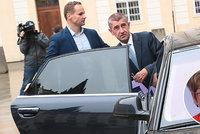 Babišova tajemná schůzka se Zemanem: Ani Faltýnek důvod neví. Skončí Nováková či Ťok?