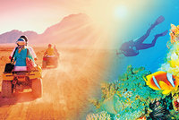 Sinaj: Nejkrásnější potápění, klid a historie