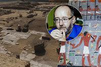 Velký objev českých archeologů v Egyptě, Bárta si libuje. Proč jsme tak úspěšní?