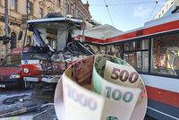 Miliony za krvavou srážku: Viník nehody platí bolestné i ušlou výplatu