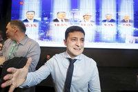 """Poražený Porošenko? Komik Zelenskyj vyhraje volby na Ukrajině """"o parník"""", ukazuje průzkum"""